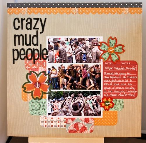 Crazy Mud People @ Pitchfork Music Festival 2008