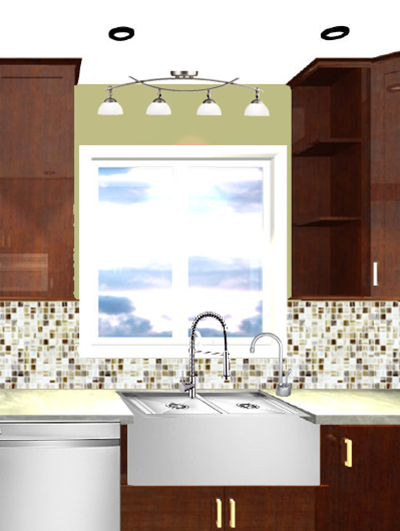 Jen caputo more kitchen lighting options for Over the kitchen sink pendant lights