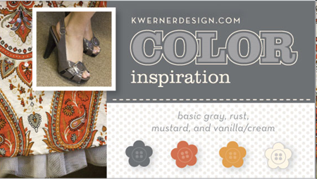 Kristina's Color Inspiration #55