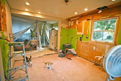 Kitchen Renovation Day 4