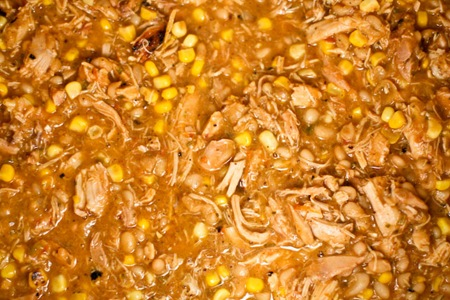 Smoked Chicken Chili