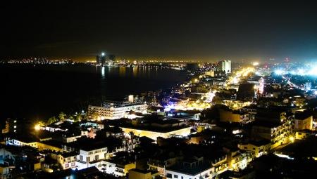 View from El Panorama - Puerto Vallarta