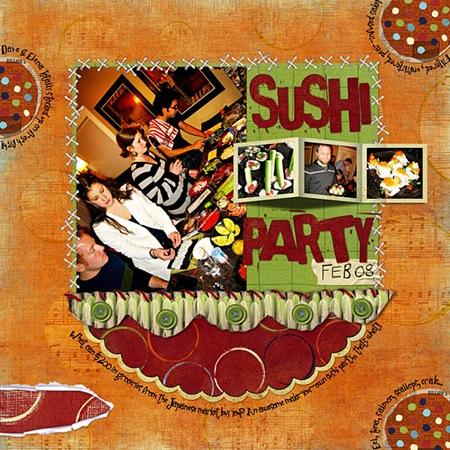 Sushi-Party