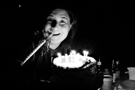 Jen birthday cake candles