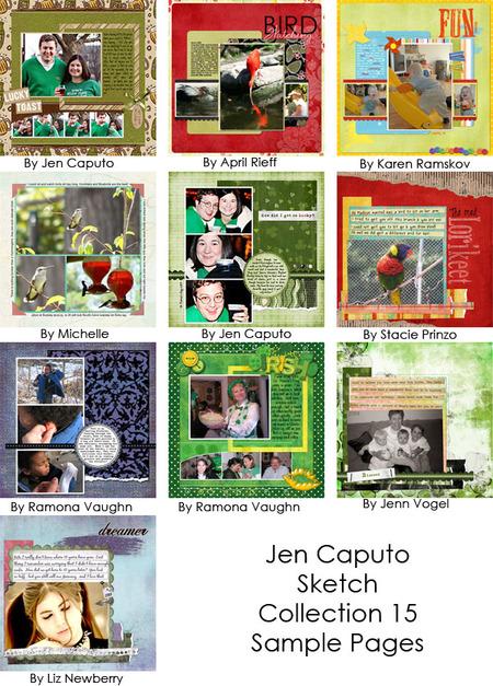 Jencaputocollection15samples