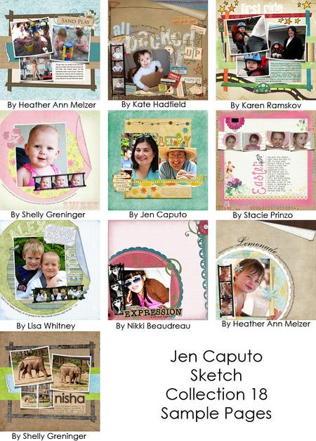 Jencaputocollection18samples
