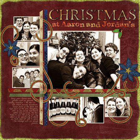 Christmasataaronandjordans2006